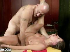 Mature samantha hairy pussy pounding