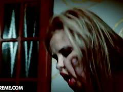 Candy alexa fucks with a zombie in her nightmare