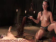 fetish, and, ass, ball, cock, foot, holding, torture, wors