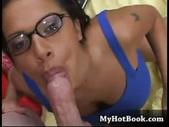 cumshot, facial, sex, black, big, boobs, interracial, blowjob, brunette, tattoo