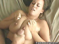 Cumming on brandy taylors tits