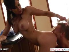 Brunette kendra lust take cock