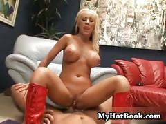 Davia ardell got home from work and was so horny s