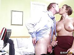 Keisha gets banged in the doctor's room