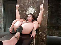 Cassidy gets tied up with indestructible ropes