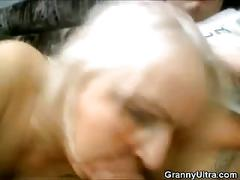 Nasty threesome grannies