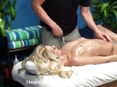 Roxxi silver gets oiled, massaged and fucked