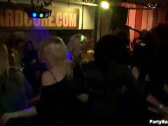 Hot disco party
