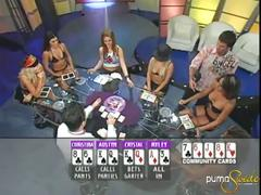 Puma swede plays poker with girls.