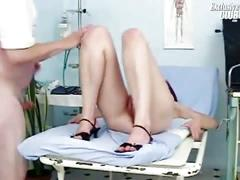 Rachael gyno speculum explicit kinky gyno exam by old doctor