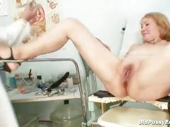 fetish, mature, exam, granny, gyno, old, pussy, speculum, vagina