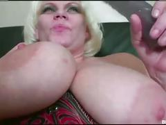 Hot mature with mega boobs