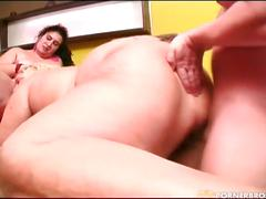 bbw, fat, group sex, anal, atm, caucasian, hairy, hardcore, livingroom, mff