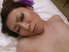 Slutty geisha moans while getting banged hardcore