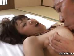 Hairy asian pussy rough riding