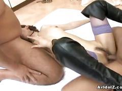 Japanese babe ai himeno deeply fucked
