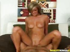 Ella riding a huge cock