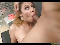 Amazing tits give a nice titjob