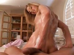 Huge cock drilling sweet babe ass in bathroom