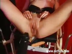 Extreme milf fisted and fucked with huge dildos