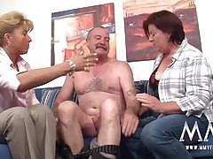 Mmf german mature threesome