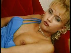 Slutty blonde german loves to suck and fuck hard