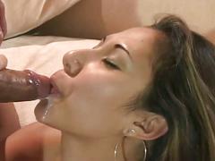 Sizzling asian hottie for huge black cock