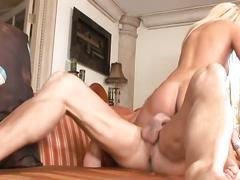 Blonde slut loves hardcore sex