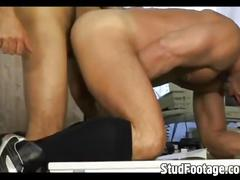 Group-sex with horny hunks in hardcore fun.