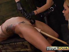 tattoo, bdsm, lesbians, strap on, domination, dildo, babes, dungeon, rope bondage, strapon squad, fetish network, isa mendez, lexy villa, mila blaze