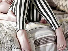 small tits, lesbians, kissing, spying, babes, brunette, undressing, tits licking, sweetheart video, miley may, veruca james