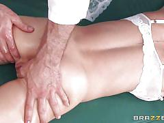 tattoo, blonde, handjob, piercing, oiled, fingering, rubbing, dick sucking, busty babe, dirty masseur, brazzers network, madison scott, jordan ash