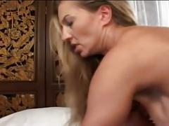 Huge tits blonde babe for monster cock