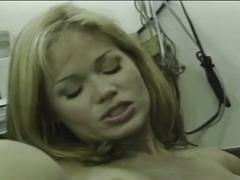 Nasty blonde mom fucked hard in kitchen