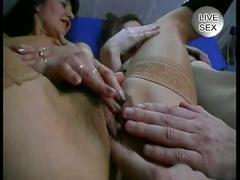 Horny couples do a foursome sex party