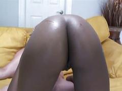 Black chick ebony blowjob fucking cumshot facial