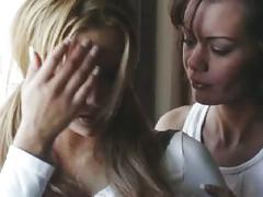 Amanda & crissy lesbians in hotel room lesbian scene