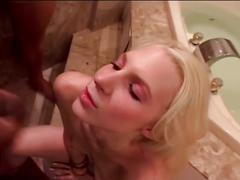 blonde, blowjob, gang bang, group sex, interracial, big dick, black cock, foursome, gang bang blowjob, group fuck, interracial gangbang