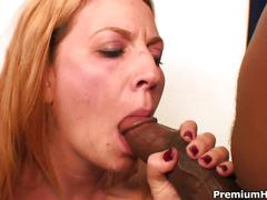 Red head wants some big black dick