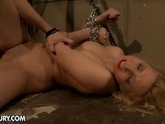 Bound, whipped and fucked