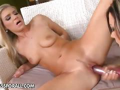 Hot suck action at home
