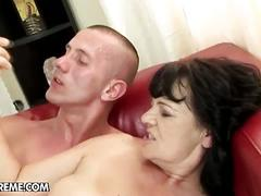big dick, brunette, mature, old & young, pussy, helena may, granny, huge cock, old and young, old young