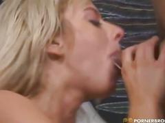 Milf pussy eaten & sucking cock
