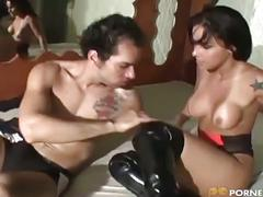 Latina gives you an anal passage for your cock