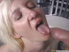 hardcore, mature, milf, amanda miller, blonde, blowjob, caucasian, doggy style, mouth, natural tits, shaved, stockings, studio, tattoo