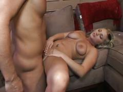 Horny blonde nikki hilton gets it deep in ass