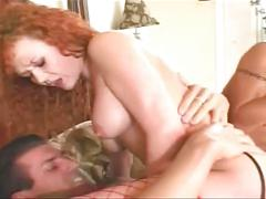 Teen pussies fiery cock sharing threesome