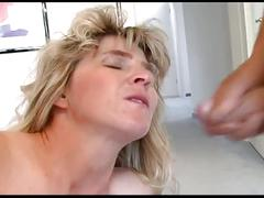 Busty nasty momma for horny daddy old cock
