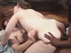 Patient fucks red head nurse in the ass!