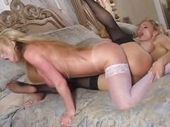 Monster tits mother and daughter lesbian fun